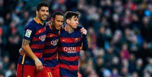 Comprar Camisetas de Futbol Barcelona MSN 2015