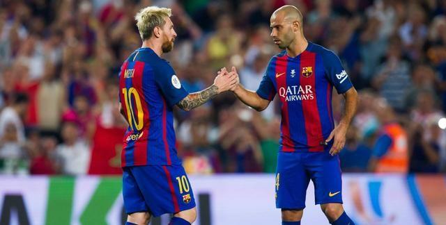 Comprar Camisetas de Futbol Barcelona Messi y Mascherano